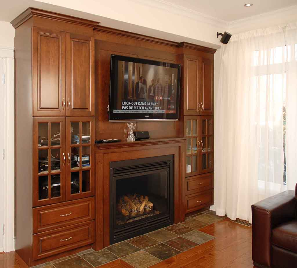 Fireplace-unit
